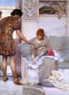 sir-lawrence-alma-tadema-a-silent-greeting