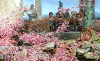 Sir Lawrence Alma-Tadema The Roses of Heliogabalus, 1888 (1)