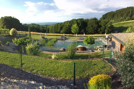 The most beautiful Natur Pool at Ratcher Landhaus (Hotel)