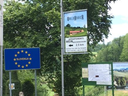 border with Slovenia!