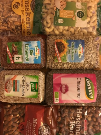 Sementes para Raw Food